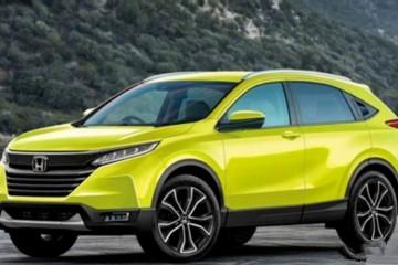本田全新小型SUV造型曝光或为下一代缤智原型