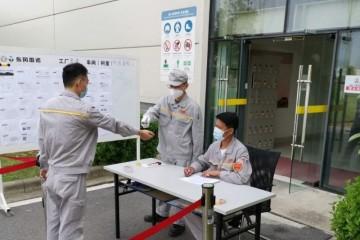雷诺武汉工厂正式复工制造业复工防控之间的平衡